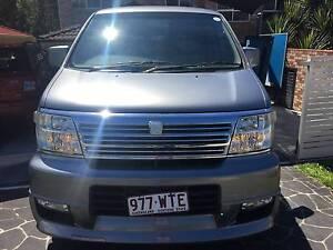 2001 Nissan Elgrand Van/Minivan Southport Gold Coast City Preview