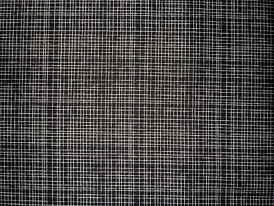 Black / White Checkered Pattern Quilt Fabric by Camelot Mixology Line 2143 0002 ()
