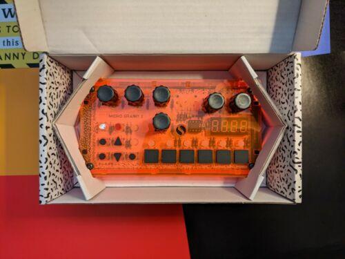 BASTL Instruments Microgranny 2.5 8-bit Granular Sampler (Distant Raver Orange)