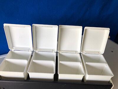 Dental Office A-dec Storage Bins With Holder 8140