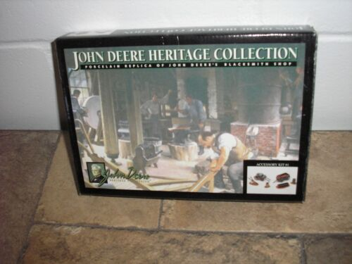 John Deere Heritage Yard Accessory Kit #1 in series Original Box Free Shipping