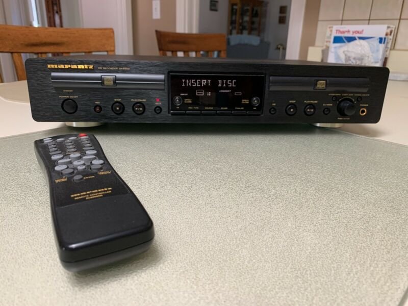 Marantz DR-6050 Dual Cd Player/Recorder with Remote.
