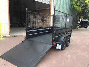 10X5 HI SIDE HEAVY DUTY RAMP 900MM CAGE 12 MONTH PRIV REGO $3550 Smithfield Parramatta Area Preview