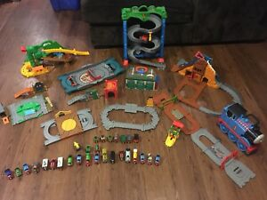 Thomas the Train Take n Play Trains, Tracks and Carrying Case