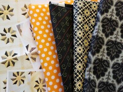 4 yards Halloween Fabric from Moda & Michael Miller Fabrics + Pattern - Michael From Halloween