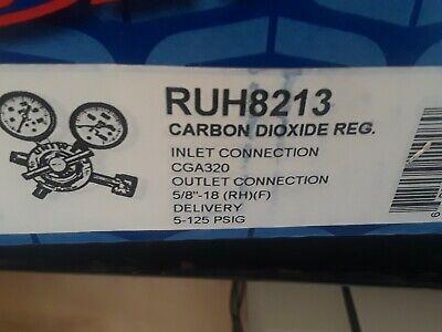 Uniweld Ruh8213pt Ruh Series Regulator For Pneumatic Tools Co2 5-125.cga320.