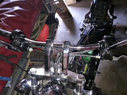 Harley Davidson  drag bars