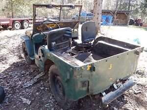 *****SOLD****** 1947 Willys Jeep - for restoration project