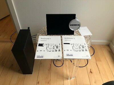 Bang & Olufsen - B&O - BeoSound 5 + BeoMaster 5 (500gb) + Wall Mount + Manual