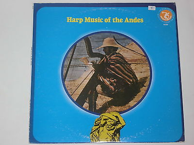 HARP MUSIC OF THE ANDES (The Atlas Collection - Music From Around The...)- LP