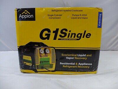 Appion G1single Refrigerant Recovery Machine