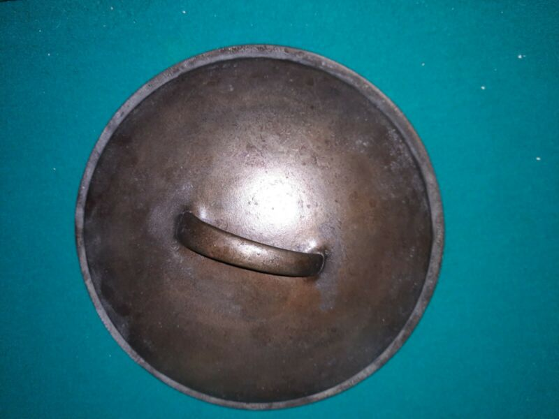 Unmarked Cast Iron Skillet Lid