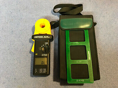 Amprobe Dgc-1000 Clamp-on Ground Resistance Tester