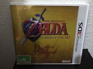 Zelda ocarina of time 3ds video games gumtree australia free local classifieds - Ocarina of time 3ds console ...