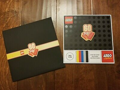 Anniversary Booklet - Lego 60th Anniversary Limited Edition Collectible Booklet (#7062/15000)
