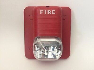 System Sensor S1224mc Spectralert Fire Alarm Remote Strobe