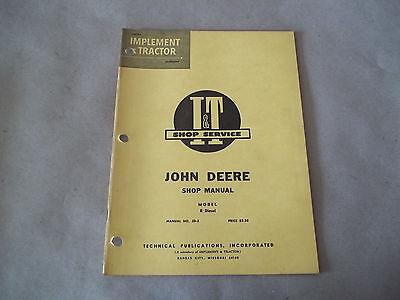 John Deere It Shop Service Manual  R Diesel  No. Jd-3
