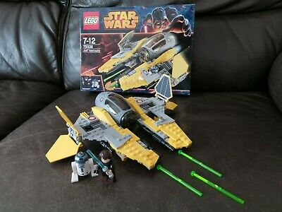 lego 75038 complete STAR WARS ANAKIN SKYWALKER JEDI INTERCEPTOR FREE P&P