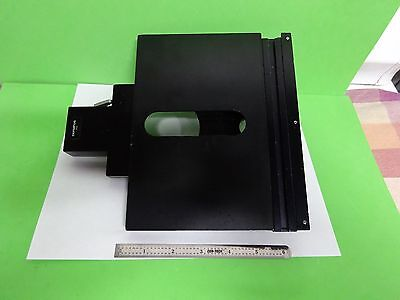 Microscope Part Olympus Japan Stage Micrometer Table For Bh2 As Is Binv8-04