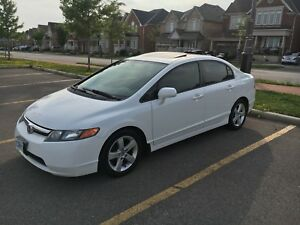 2007 Honda Civic EX Sedan No Accidents, Low KMS