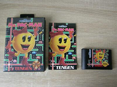 Ms. Pac-man (complete) - Sega Genesis / Mega Drive - pacman, usado comprar usado  Enviando para Brazil