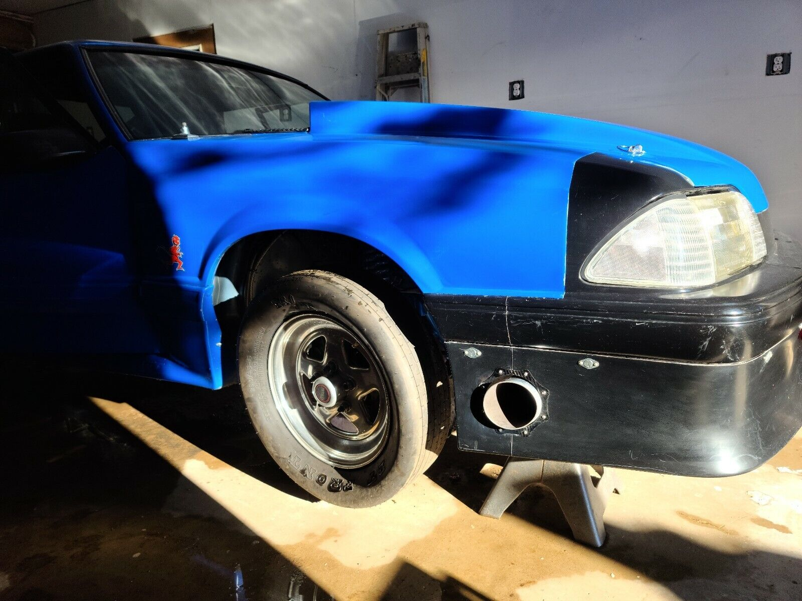 1989 Ford Mustang GT Twin Turbo Outlaw 8.5 Drag Car