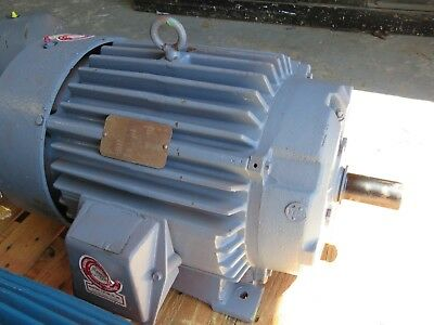 Reliance 30 Hp Electric Motor P28g398h 286ts 460v 3535 Rpm Repaired