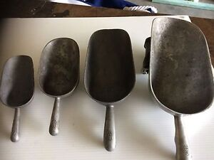 Vintage metal scoops Woy Woy Gosford Area Preview