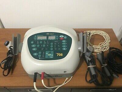 Dynatron Dynatronics Solaris 708 Ultrasound Light Probe And Pad Electric Stim