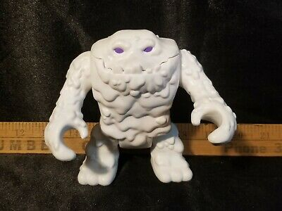 White Snow Clayface Fisher Price Imaginext DC Super Friends Action Figure Purple