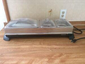 Buffet Server & warming tray