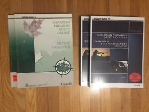 Canadian Firearms Safety Course textbooks