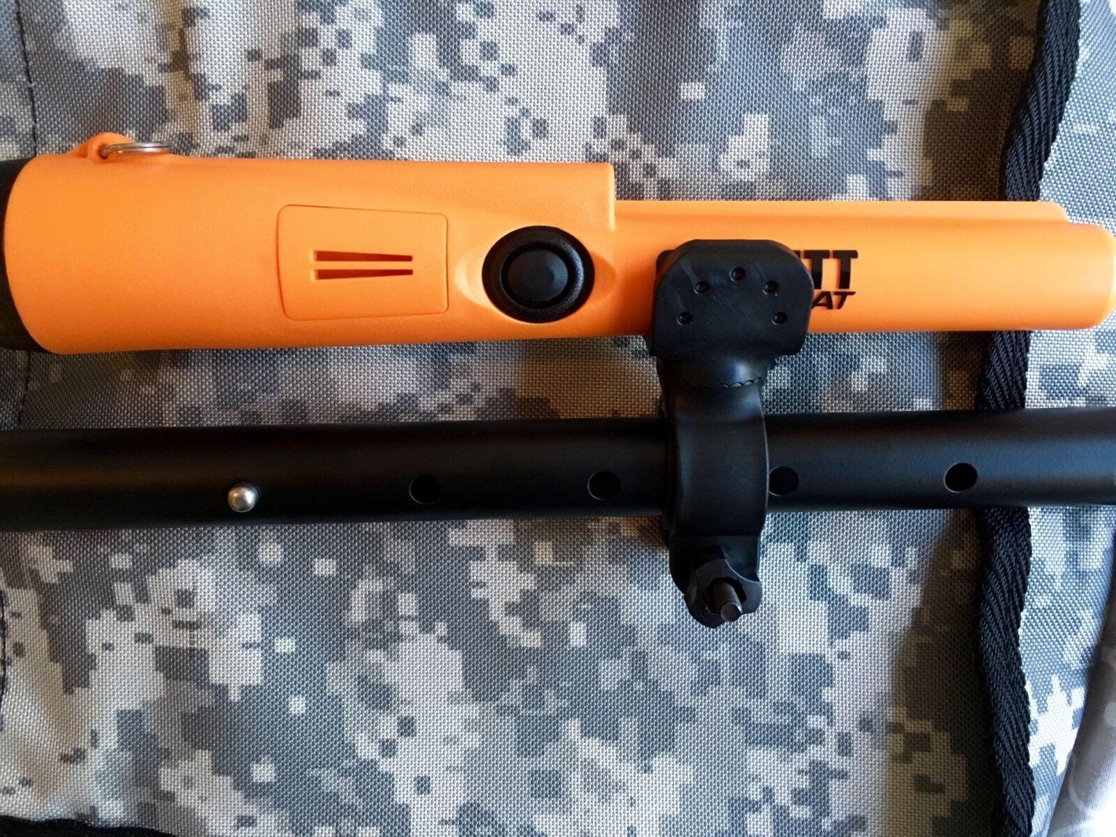 как выглядит Запчасть или аксессуар для металлоискателя ProPointer PinPointer Flashlight Holder Fisher Tesoro Teknetics Garrett Minelab фото