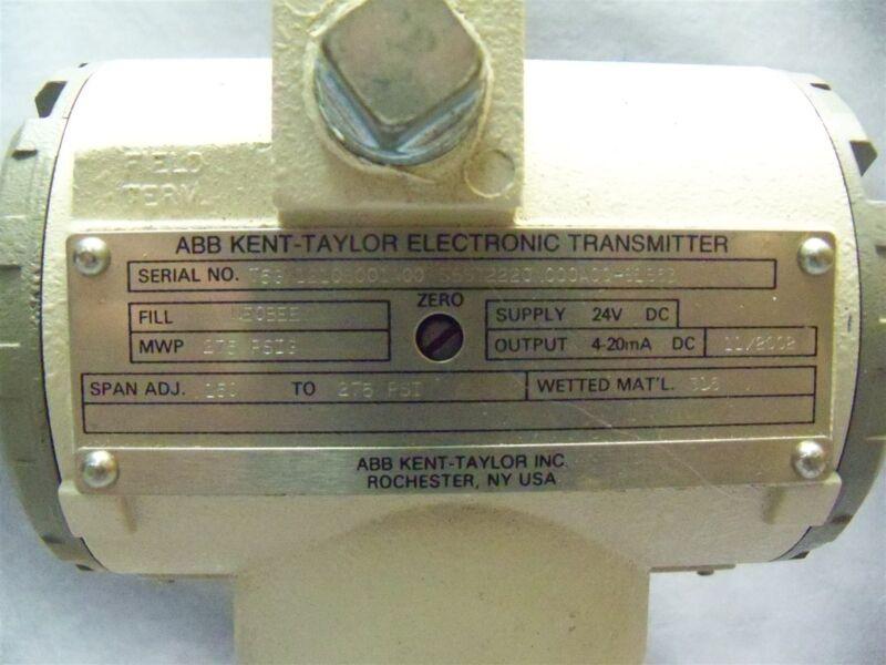 ABB Kent Taylor Electronic Transmitter T5GK1210B001A00 S5ST2220N000A00-81863