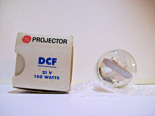 DCF Projector Projection Lamp Bulb  150W 21V GE  Brand *AVG.10-HOUR LAMP*