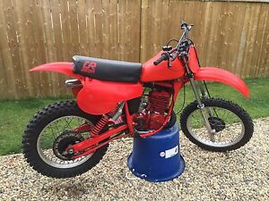 Honda Elsinore CR250R 1980 dirt bike motocross twin shock