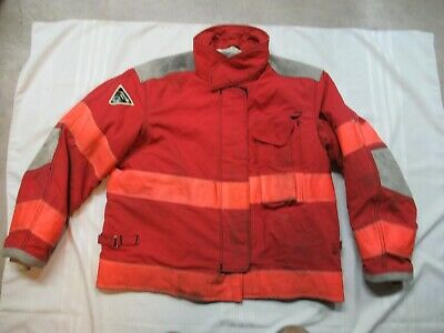 Lion Janesville 48 X 29r Firefighter Turnout Bunker Gear Jacket Coat Rescue Tow