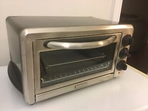 KitchenAid 6 slice counter top toaster oven
