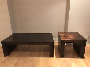 Table basse et table d'appoint