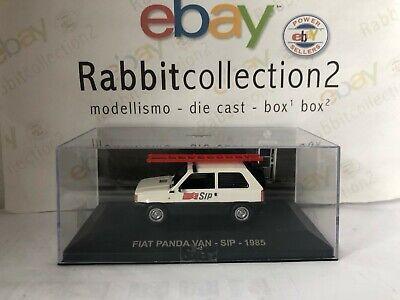 """Używany, DIE CAST """" FIAT PANDA VAN - SIP - 1985 """" PUBBLICITARI SCALA 1/43 na sprzedaż  Wysyłka do Poland"""