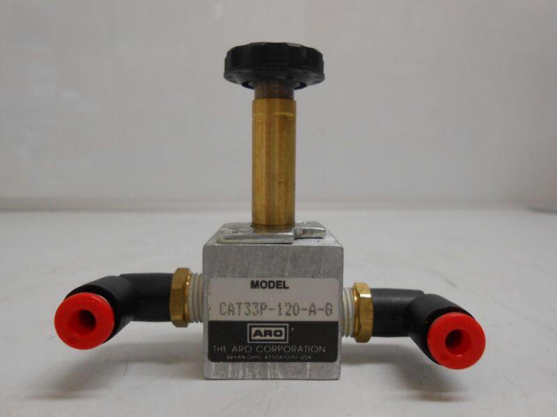 ARO CAT33P-120-A-G SOLENOID AIR CONTROL VALVE