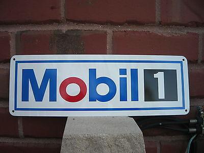 Mobil 1 Motor Oil Gas Station Pump Racing SIGN Gasoline Mechanic AD Free Ship