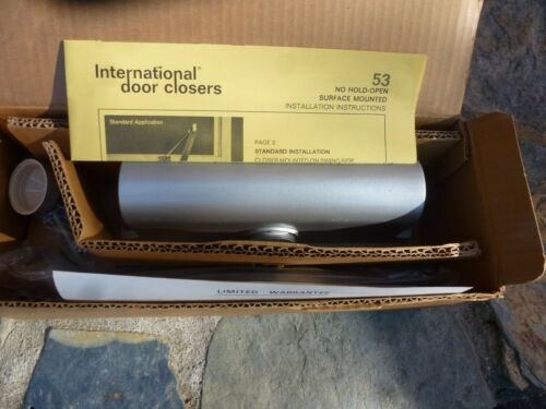 NEW INTERNATIONAL 53AL Surface mounted DOOR CLOSER