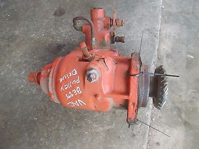 Case Vac Tractor Original Belt Pulley Drive Assembly W Hydraulic Pump Assembly