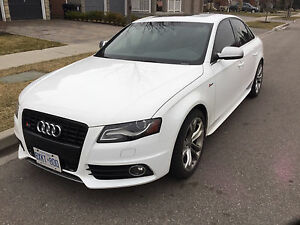 2012 Audi S4 prestige model fully loaded with drive select