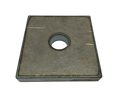 Steel Bracket Plate 14 X 2 X 2 With A 78 Hole A36 Steel