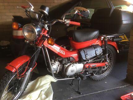 STOLEN 2011 Honda CT110
