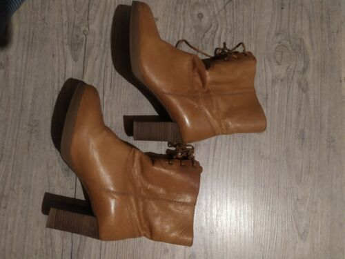 Bottines cuir 40