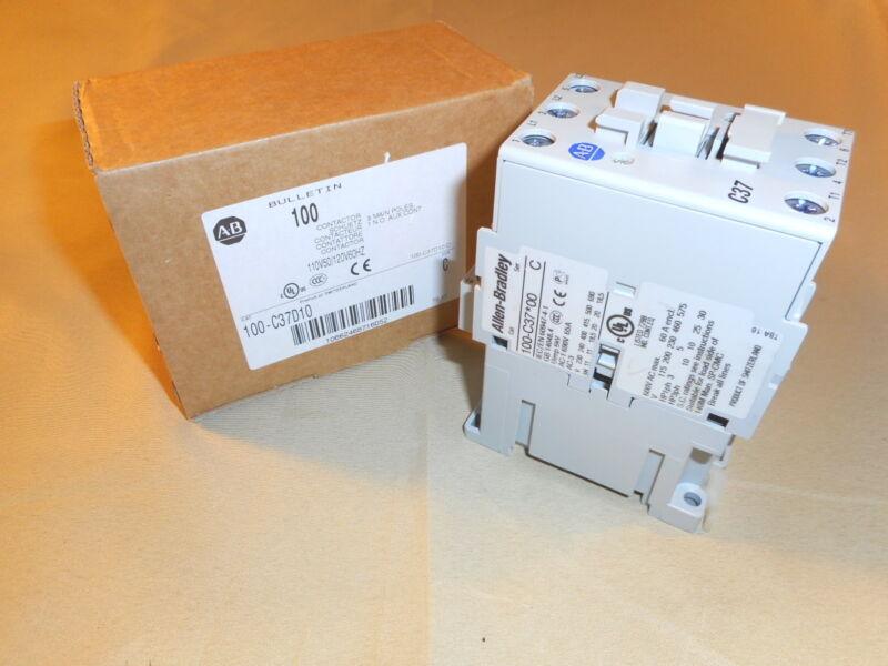 Allen Bradley 100-C37D10 contactor, 120V (NIB)
