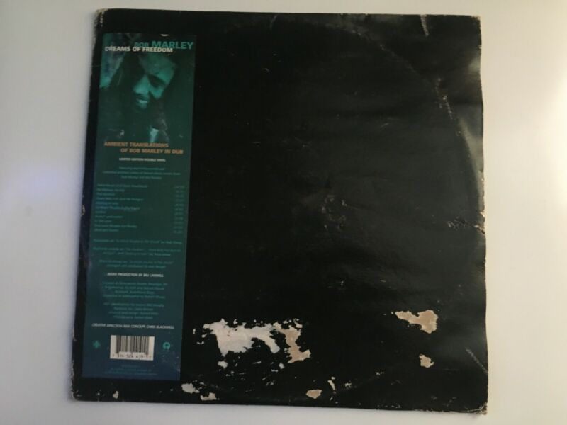 Dreams Of Freedom Ambient Translations Of Bob Marley In Dub Rare Ltd Ed. 2 Vinyl
